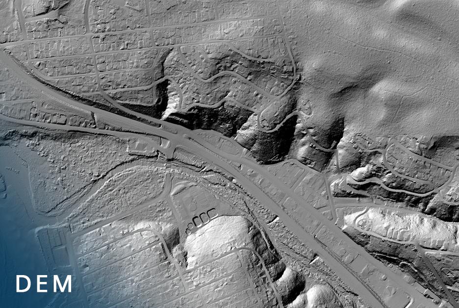 Drone Mapping Delta Lidar